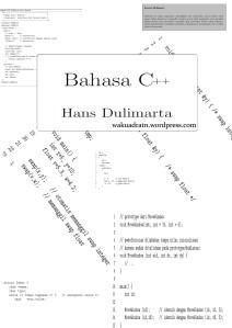 Bahasa C++ [wakuadratn]