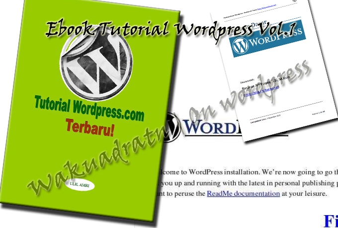 Download Ebook Tutorial WordPress Vol.1