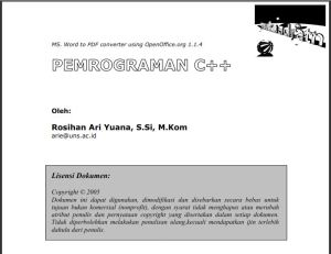 Pemrograman C++ [wakuadratn]